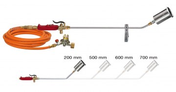 zdjęcie Professional Koma Plus line torches include KOMA hose gas regulator
