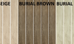Gres - floor tiles wood-like BURIAL BEIGE, BROWN ; BIANCO rectified size : 16/98,5 cm matt